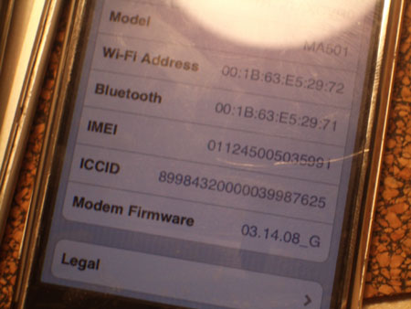 iPhone with com.apple.CommCenter.plist